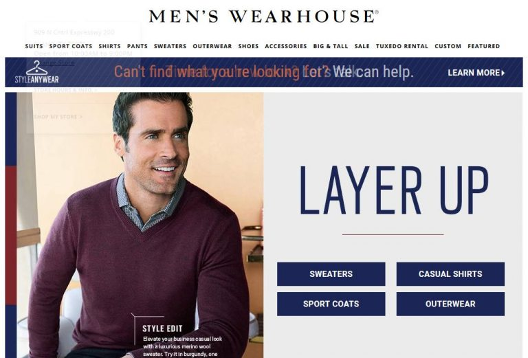 The Men's Wearhouse-The Mens Wearhouse-Bogo 50% Off Shoes at Mens Wearhouse. Offer Valid 1/11-1/13!