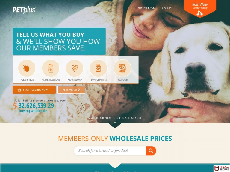 Pet Plus-Save Up to 72% Off Pet Medications, Free Shipping Always, Free 24/7 Vet Access!
