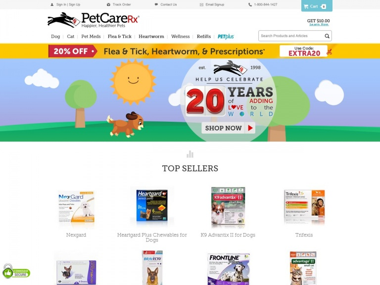 PetCareRx-Free Shipping on All Orders Over $48 at Petcarerx.com!