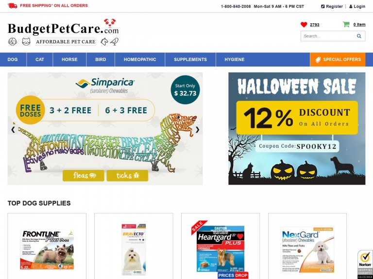 Budget Pet Care-Budget Pet Care-Halloween Day Sale