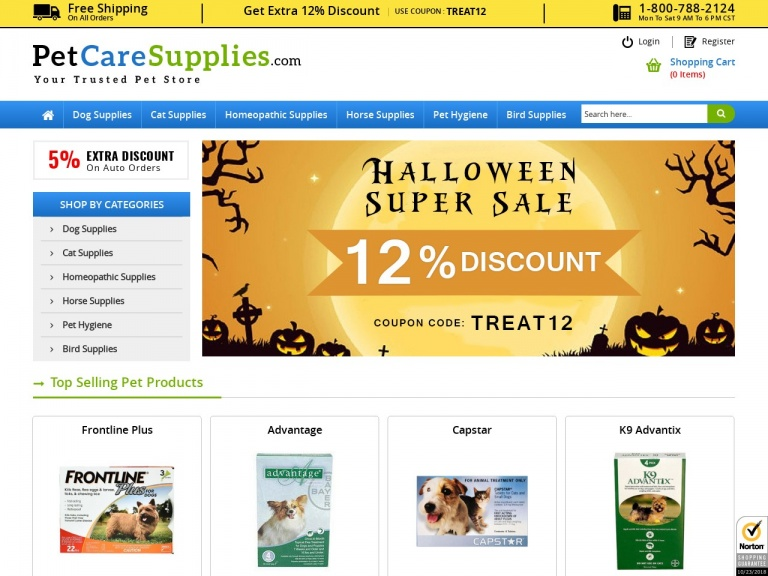 Pet Care Supplies-Pet Care Supplies-Halloween Day Sale