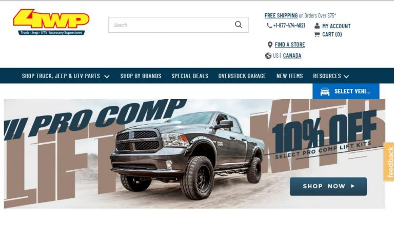4 Wheel Parts-4 Wheel Parts-$20 off Orders Over $400 with code BUYNOW