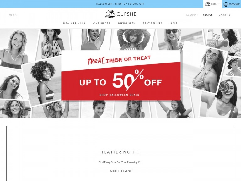 Cupshe-Cupshe Floral&Leafy Bikini! Starts At $9…