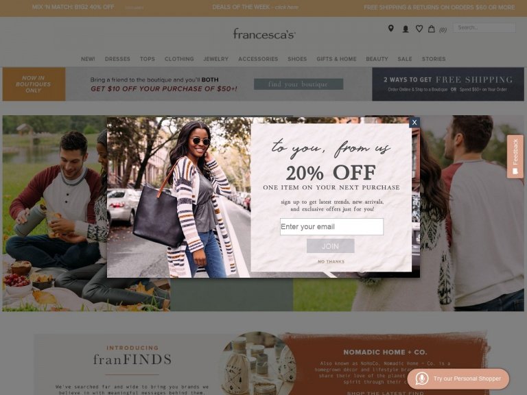 francesca's-Cutest Styles Up to 60% Off! Shop Sale a…