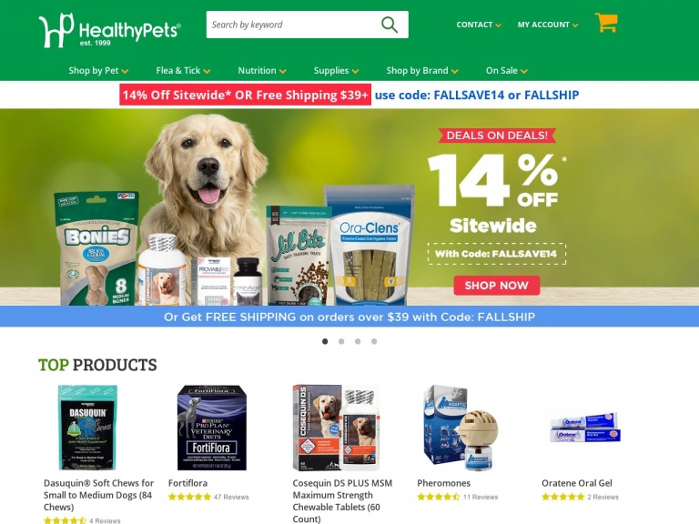 Healthy Pets-Red Tag Clearance – Find Items Up to 80%…