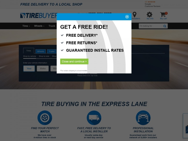 TireBuyer.com-Save 5% Off Any Order of Uniroyal Tires …