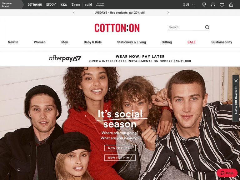 Cotton On (US)-Shop Cotton On Kids! 20% Off Your First …