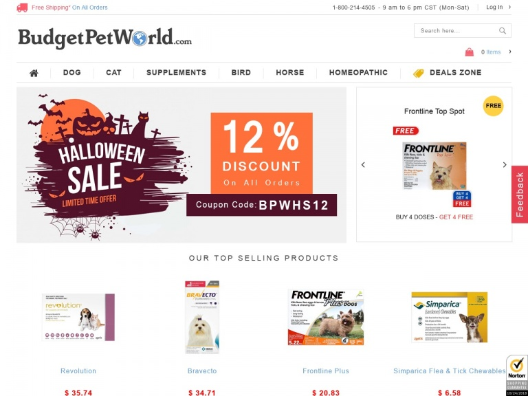 BudgetPetWorld-Summer Vacation With Pets? Extra 12% Off…