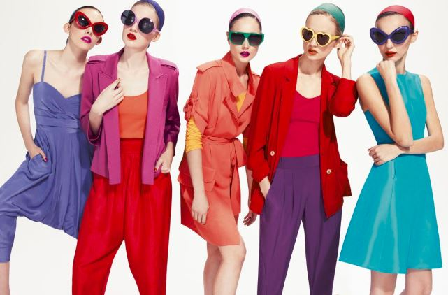 women's clothing colors