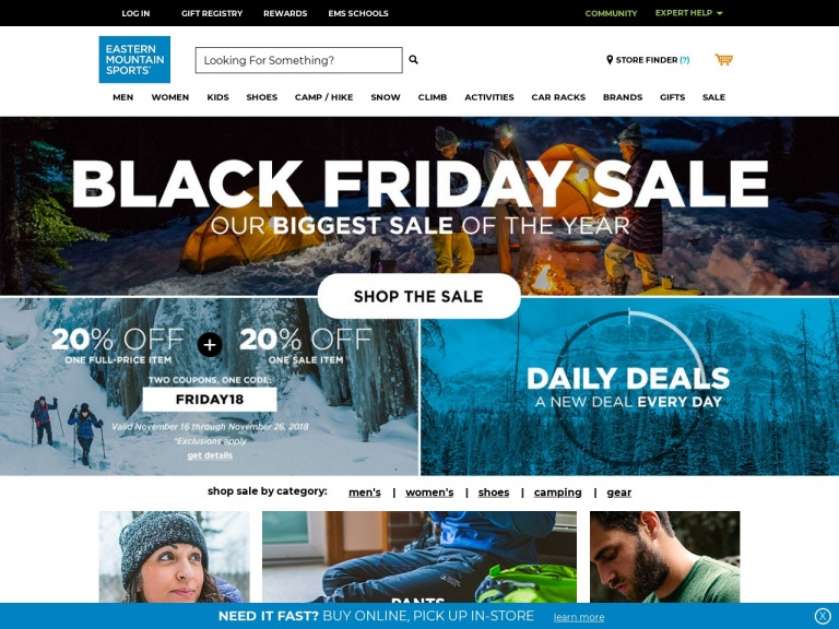 Eastern Mountain Sports-Check out the Eastern Mountain Sports Holiday Gift Guide and Save on Great Gifts!