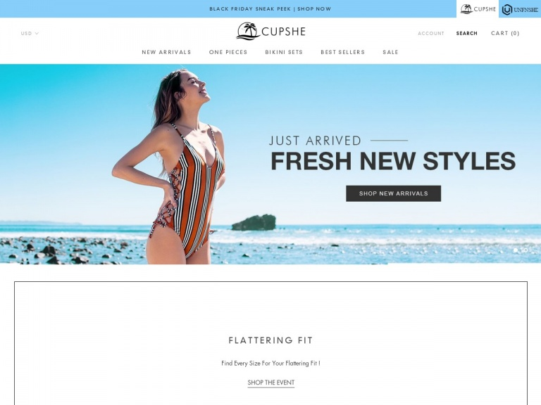 Cupshe-Escape To Happiness!Starts From $14.50! …