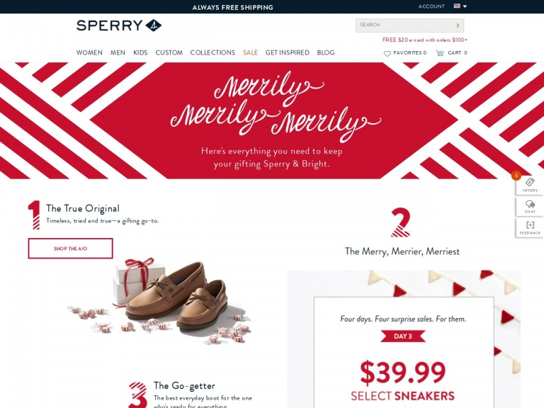 Sperry-Extra 30% Off Sperry Sale Styles with Co…