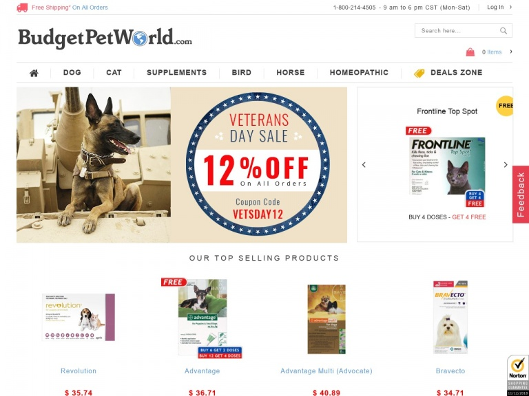 BudgetPetWorld-Hurry! Get 12% Extra Off Plus Free Shipp…