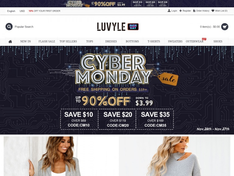 Luvyle Inc-Luvyle Top Seller Discount Up To 70% Off+ 10% Off  Of Your First Order.