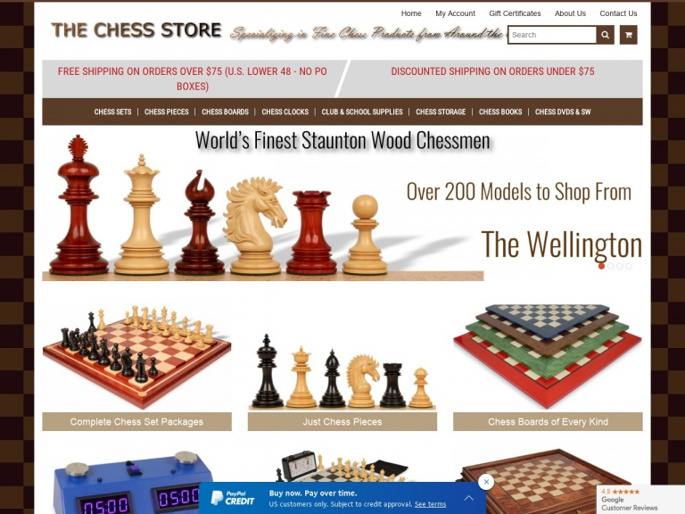 The Chess Store-The Chess Store Black Friday Sale