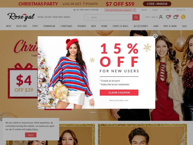 "Rosegal-Enjoy 20% Off Sitewide with Coupon ""Holi…"
