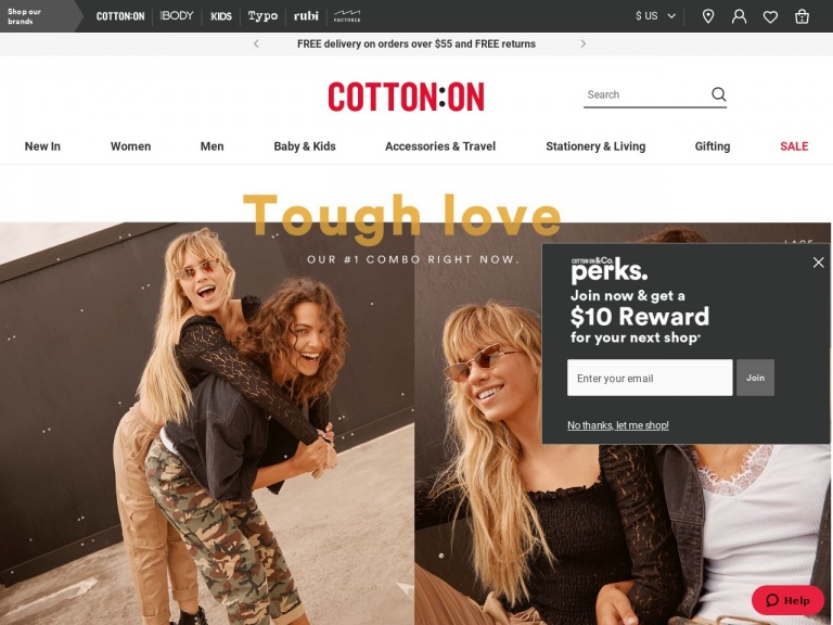 Cotton On (US)-Shop More, Save More! Save $20 when You …
