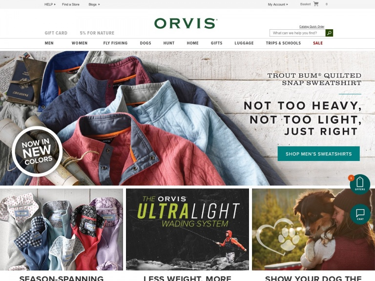Orvis-Receive an Extra 20% Off the Sale Outlet…
