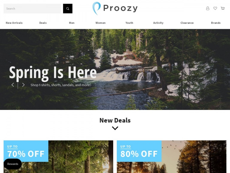 Proozy-40% off Spring Weather Jackets!