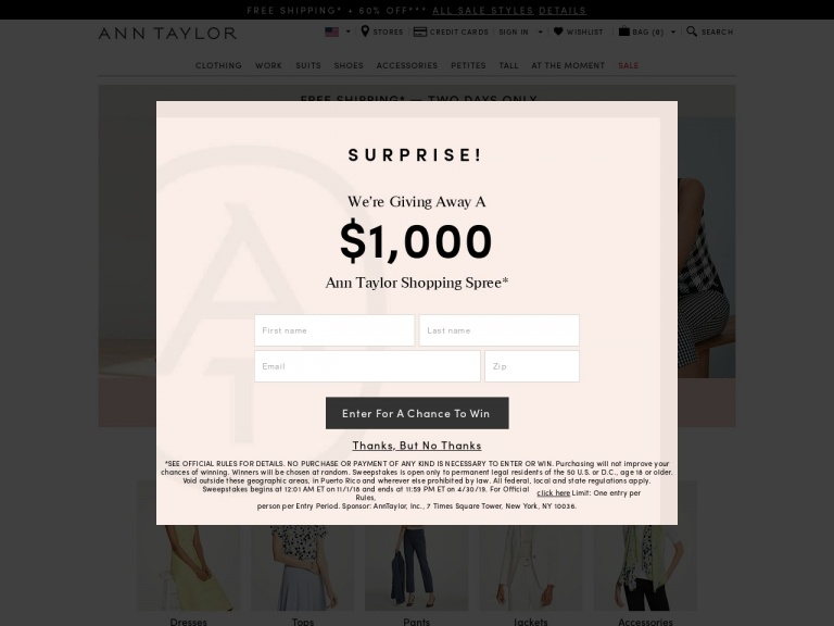 Ann Taylor-50% Off Select Full-Price Workwear with …