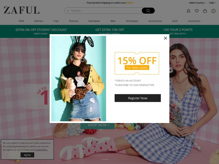 Zaful-Enjoy Extra Discount and Free Shipping D…