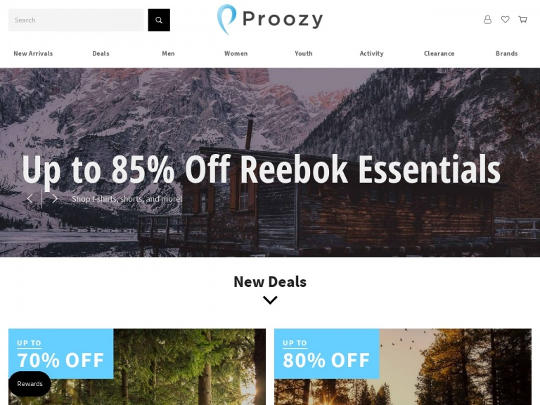 Proozy-Proozy Men's Workout Set for $19.99
