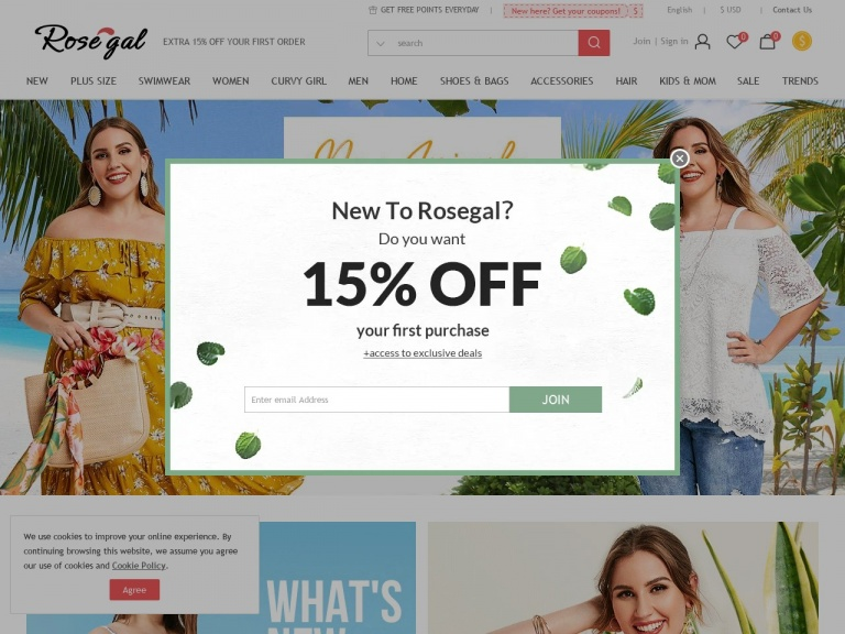 Rosegal-RoseGal-Extra Money OFF On Your Order! Sitewide 23% OFF None Restrictions