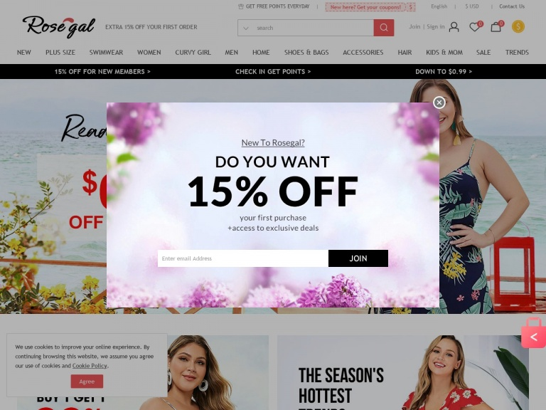 Rosegal-Rosegal- 18% off Sitewide Products