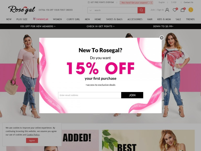 Rosegal-RoseGal-UP TO 20% OFF On Your Order