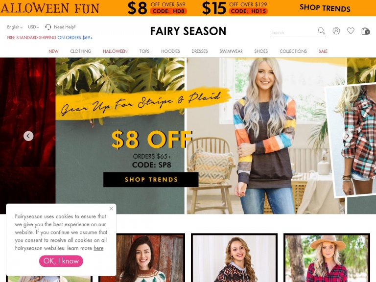 FairySeason-$30 Off Orders Over $199 for Halloween C…