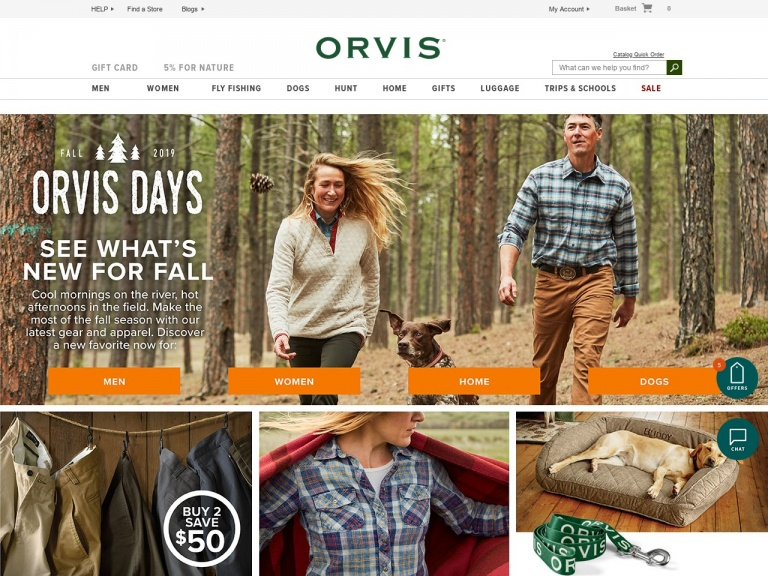Orvis-Orvis-Today Only! Orvis Friends and Family Event. SAVE 20% on full-priced items. Use Code: FRIENDS