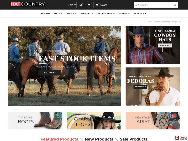 Hat Country-Sitewide Sale: 10% Off all Hat Orders Ov…