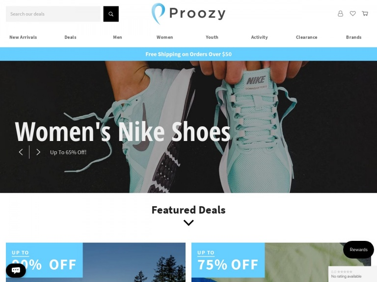 Proozy-Consistent Tee 100pk for $19.99 + Free Shipping
