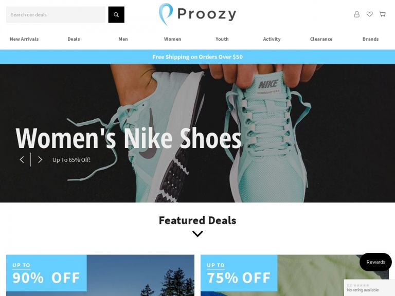 Proozy-Spenco Women's Sandals for $4.99 + Free Shipping