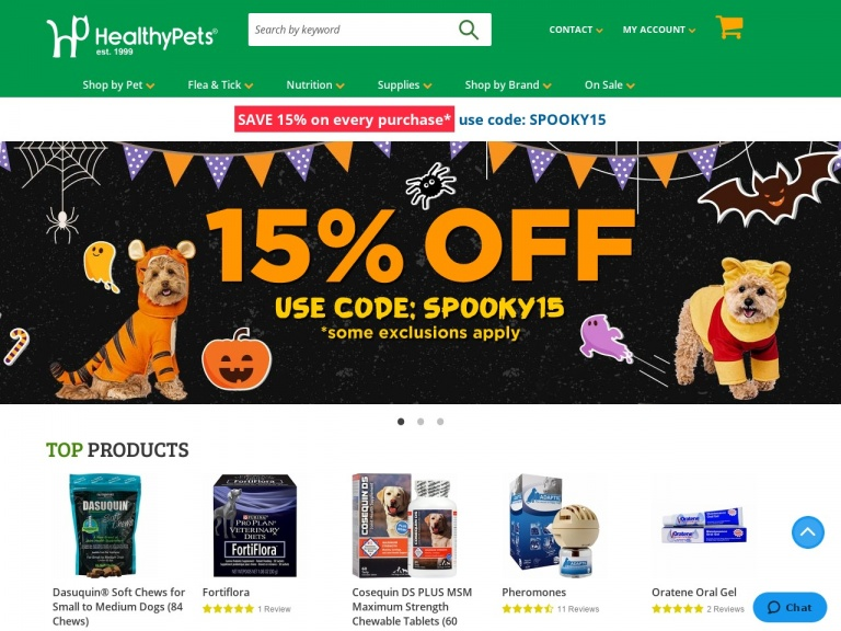Healthy Pets-Visit The New BOGO Page to Find Discount…