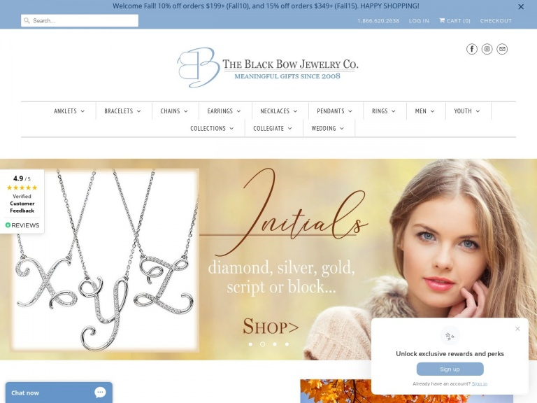 Black Bow Jewelry Co.-BLACK FRIDAY – 20% OFF ALL ITEMS