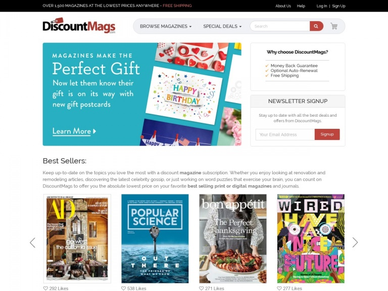 Discountmags.com-Pre-Black Friday deal! Subscribe to Taste of Home Magazine, just $4.75/year from DiscountMags.com! Use Promo Code: PREBF84063