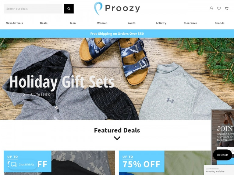Proozy-Reebok Men's AMP L/S Performance T-Shirt for $6.99 + Free Shipping
