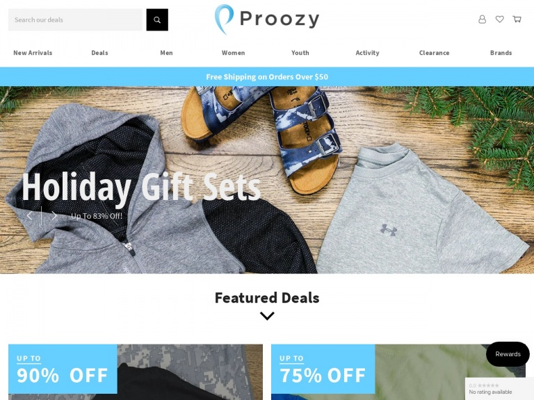 Proozy-Women's French Terry Joggers for $12