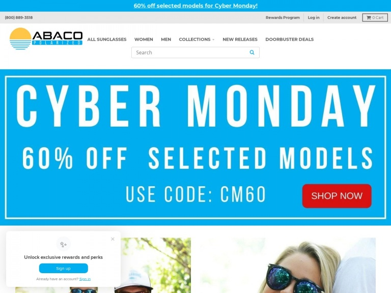 Abaco Polarized-CYBER MONDAY SALE – GET 60% OFF