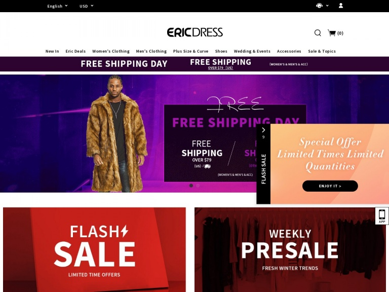 Ericdress.com-New Year New Look Ericdress Any Order 10% Off No Limited Code: NEW10 Shop Now! End:2020.1.15