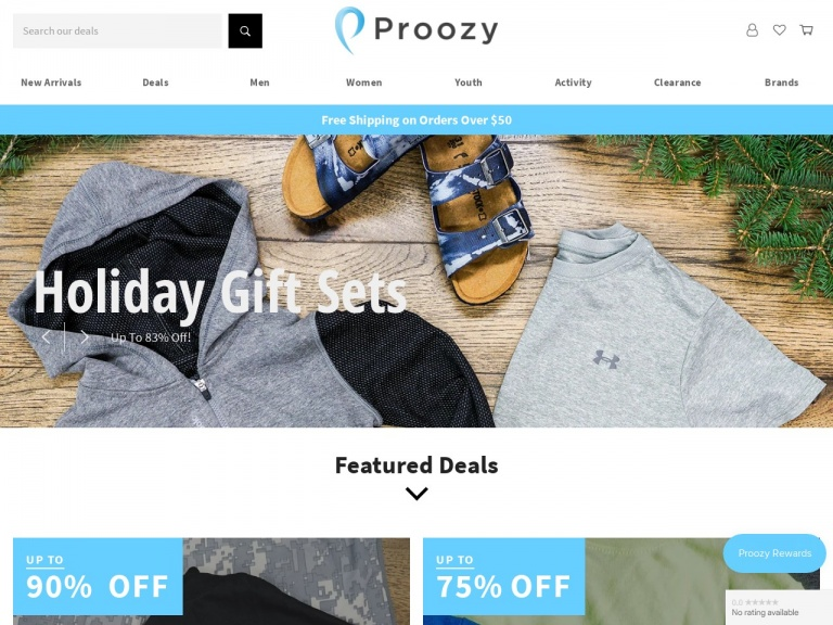 Proozy-Reebok Men's Heathered Performance T-Shirt 2-Pack for $9.99