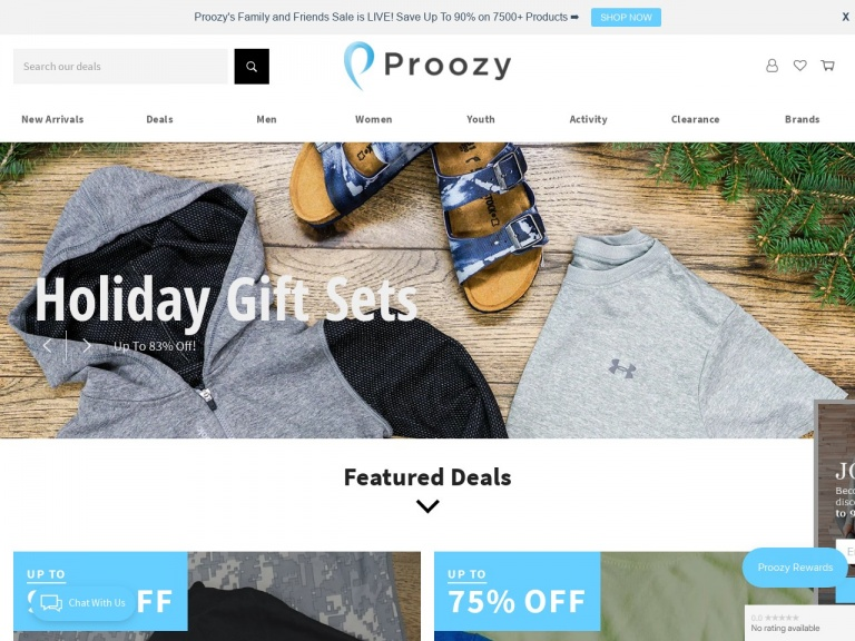 Proozy-Reebok Sackpacks Collection: 2 for $10