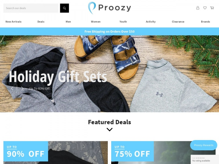 Proozy-Under Armour Men's Mystery T-Shirt 5-Pack for $40 + Free Shipping