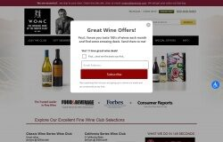 Wine of the Month Club, Inc coupon codes