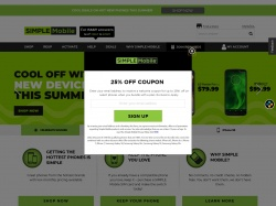 Simple Mobile coupon codes