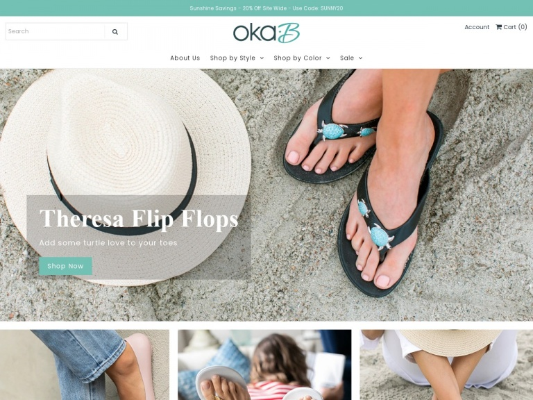 Oka-B / Okabashi-15% Off Site Wide