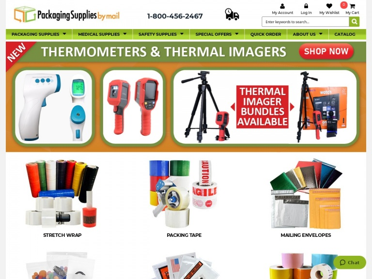 Packaging Material Direct, Inc-Free Shipping on All Medical Supplies Orders >$149.99