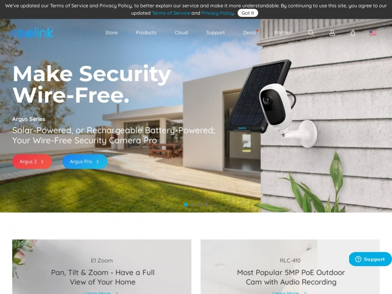 EZCloud Innovation Limited-Save $50 Off for Reolink Go/ReolinK Go 2 Pack/Reolink Go+SP 4G LTE Mobile Security Camera