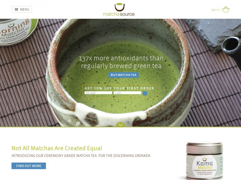 Matcha Source-Get free shipping on orders $40+ with code FREESHIP